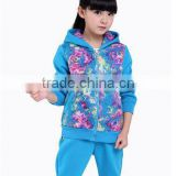 Factory price Shenzhen Autumn children's Casual Sport Suit Cotton kids clothing