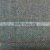 High quality woven woolen tweed fabric, scottish style tweed fabric, woolen fabric, scottish fabric, herringbone twill fabric