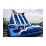 Kids Outdoor Backyard Inflatable Water Slides For Rent , Waterproof Inflatable Slide