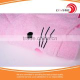 Eco-Friendly High Quality Microfiber Fabric Colorful Customized 100% Cotton Soft Baby Hooded Face Towel