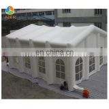 Big size white inflatable tent, white inflatable dome tent
