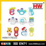 New product baby musical toys plastic tambourine for wholesale (10pcs)