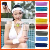 Wholesale Custom Terry Sports Sweatband
