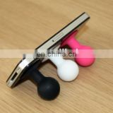 Mobile phone silicone phone holder