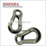 fashion design metal snap hook for handbag