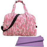 full printed waterproof polyester travel bag from China