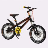 Black 16/18/20 Inch Children Mountain Bike Sport Bicycle for Children