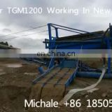 Trommel screen gold mining machinery for Canada