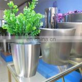 Various Design Garden Decoration Customize stainless steel flower pot