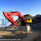 Stationary Rock Breaking Boom System