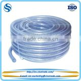 Clear braid reinforced PVC hose for food & potable water, NSF certificated pvc braided hose pipe