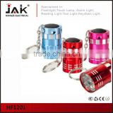 JAK HF1201 9 LED Aluminium Mini Key Chain Light