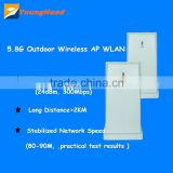 Outdoor Access Point Long Range 1-3km Wifi Tranmission point to multi point Wireless AP 5.8ghz