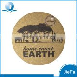 Favoured Natural Wood Blank Cork Coaster