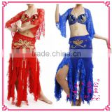 Large lace belly dance performance clothing, belly dance training clothes,Belly Dance Costume