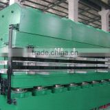 precure rubber tread vulcanizing press
