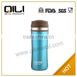 Fashion blue stainless steel vacuum flask air pot