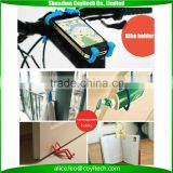 Digital corporate gift set universal pvc man shape mobile phone holder stand for key, door, etc