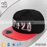 Guangdong Guangjia 2016 new design customized promotional male character 3D embroidered cotton snapback cap                                                                         Quality Choice