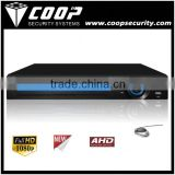 Multi-channel real-time recording 8CH AHD 1080P realtime standalone DVR