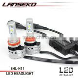 High power motorcycle led headlight h4 h7 h9 h11 led headlight replace halogen bulb