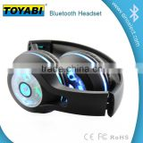 LED Wireless Bluetooth Headphones for Samsung Smartphone Headsets with LED light Glow in dark Earphone
