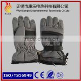 7.4V rechargeable electric heated ski gloves keep warm ski gloves