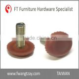 Adjustable Sofa Plastic Furniture Leveling Glides