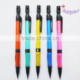 2mm lead crystal mechanical pencil with sharpener