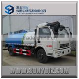 dongfeng 5000L light street sprinkler truck ( shipping by 20ft container )