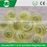 China decorative clear glass marble balls for garden and craft