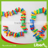 Toys Plastic Large Magnetic Building Blocks For Kids,Plastic big castle connecting blocks toy for kids LE.PD.071