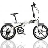 "36V 350W Bafang hub motor 20"" electric city bike"