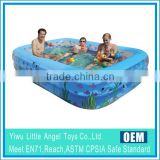 Inflatable Rectangular family swimming pool expert