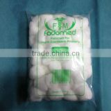 surgical/medical absorbent cotton wool ball (with CE and ISO)