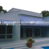Wholesale waterproof PVC stripe fabric for awning