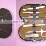 Quality men's grooming kit manicure set for men
