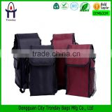 Polyester material insulated lunch bag fitness cooler lunch bag