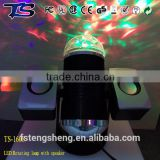 Transformer powered magic color effects USB dj light with music player