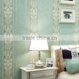 embossed european royal wallpaper design for home