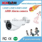 KENDOM Unique Design New Alarm Siren Camera IP or AHD Security Camera Outdoor With new brand IR and white light leds