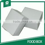 FOOD GRADE WHITE CARDBOARD BOX FOR FOOD PACKING CAKES                                                                         Quality Choice
