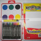 jumbo water color paint with crayon