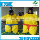 Top Selling 0.45mm PVC sumo wrestler costumes, adult sized sumo wrestling suits for sale