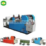 high speed folded pocket tissue machine full auto embossed mini pocket paper machine