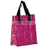 Polyester Material and Shopping bag,Shoe bag Style Supermarket customized foldable shopping hand bags