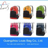 mans fashion red sports backpack,Backpack with good quality,600D leisure folding schoolbags