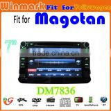 android car radio for VW MAGOTAN/CADDY/PASSAT/SAGITAR/GOLF/TIGUAN/TOURAN/JETTA/SKODA/SEAT/CC/POLO/Golf 5/Golf 6 car dvd player
