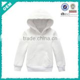 Hot ! china custom plain white hoodies sweatshirt, children blank fleece hoody (lyt-04000331)