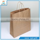 Shopping Industrial Use and Hand Length Handle Sealing & Handle paper bag kraft paper